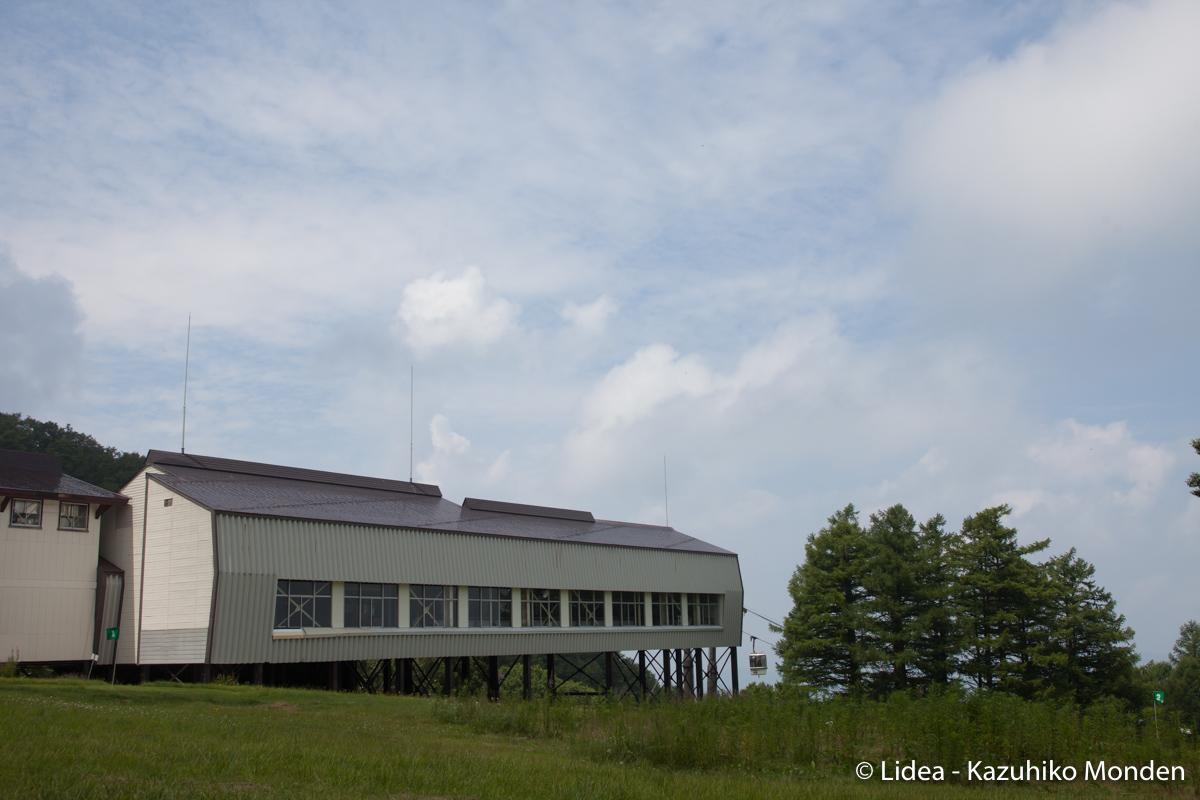 丘の上の駅